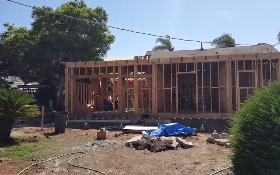 Historic Home Remodel by Owner Builder in Chula Vista
